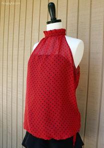 шить без выкройки, простая блуза, летний топ, мастер-класс, шитье