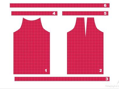 шитье, как сшить топ, американская пройма, мастер-класс, как сшить блузу